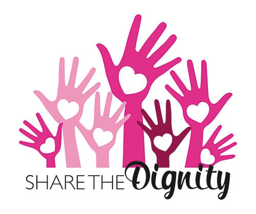 Share the Dignity Charity at Figur by Jules Shapewear